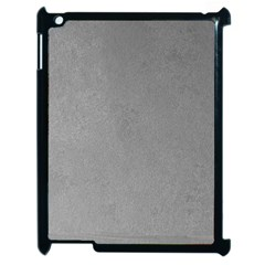 Grey Suede Apple Ipad 2 Case (black) by trendistuff