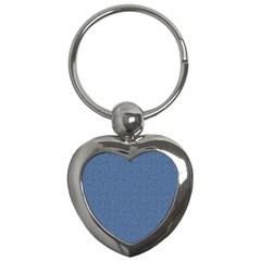 Denim Key Chains (heart)  by trendistuff