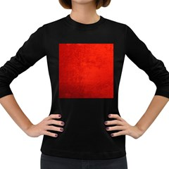 Crushed Red Velvet Women s Long Sleeve Dark T Shirts by trendistuff