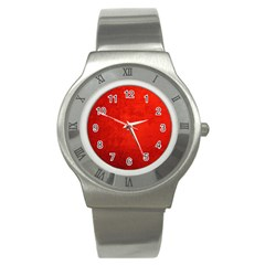 Crushed Red Velvet Stainless Steel Watches by trendistuff