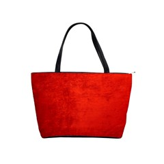 Crushed Red Velvet Shoulder Handbags by trendistuff