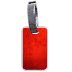 Crushed Red Velvet Luggage Tags (two Sides) by trendistuff