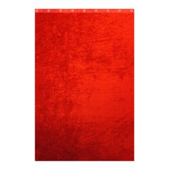 Crushed Red Velvet Shower Curtain 48  X 72  (small)  by trendistuff