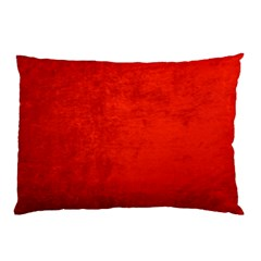 Crushed Red Velvet Pillow Cases (two Sides) by trendistuff