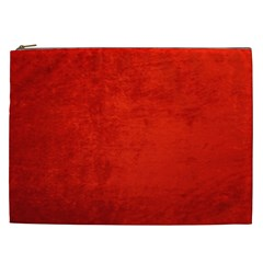 Crushed Red Velvet Cosmetic Bag (xxl)  by trendistuff