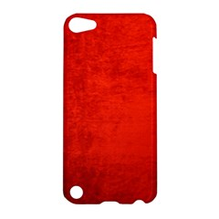 Crushed Red Velvet Apple Ipod Touch 5 Hardshell Case by trendistuff