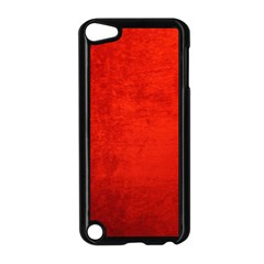 Crushed Red Velvet Apple Ipod Touch 5 Case (black) by trendistuff