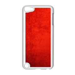 Crushed Red Velvet Apple Ipod Touch 5 Case (white) by trendistuff