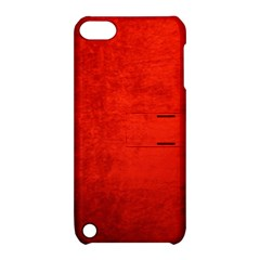 Crushed Red Velvet Apple Ipod Touch 5 Hardshell Case With Stand by trendistuff