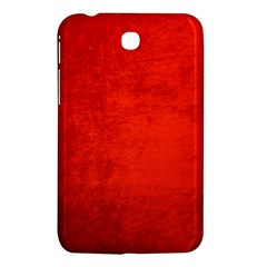Crushed Red Velvet Samsung Galaxy Tab 3 (7 ) P3200 Hardshell Case  by trendistuff