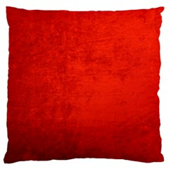 Crushed Red Velvet Large Flano Cushion Cases (two Sides)  by trendistuff