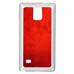 Crushed Red Velvet Samsung Galaxy Note 4 Case (white) by trendistuff