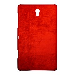 Crushed Red Velvet Samsung Galaxy Tab S (8 4 ) Hardshell Case  by trendistuff