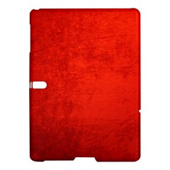 Crushed Red Velvet Samsung Galaxy Tab S (10 5 ) Hardshell Case  by trendistuff