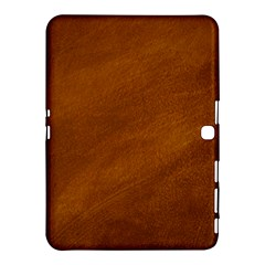 Brushed Suede Texture Samsung Galaxy Tab 4 (10 1 ) Hardshell Case  by trendistuff