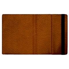 Brown Leather Apple Ipad 3/4 Flip Case by trendistuff