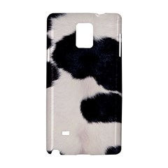 Spotted Cow Hide Samsung Galaxy Note 4 Hardshell Case by trendistuff