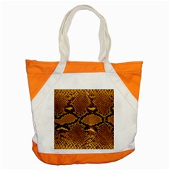 SNAKE SKIN Accent Tote Bag  by trendistuff