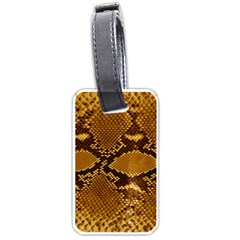 Snake Skin Luggage Tags (two Sides) by trendistuff