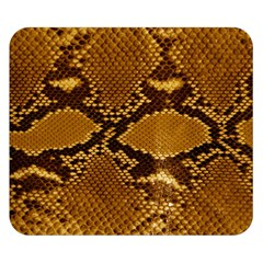 Snake Skin Double Sided Flano Blanket (small)  by trendistuff