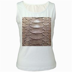 Scaly Leather Women s Tank Tops by trendistuff