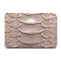 Scaly Leather Small Doormat  by trendistuff