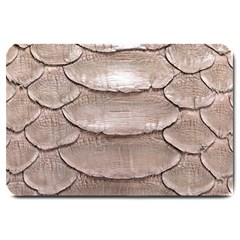 Scaly Leather Large Doormat  by trendistuff