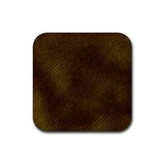 Reptile Skin Rubber Coaster (square)  by trendistuff