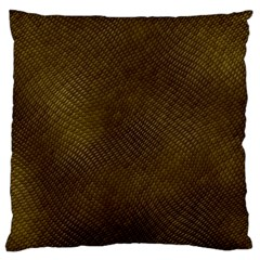Reptile Skin Large Cushion Cases (two Sides)  by trendistuff