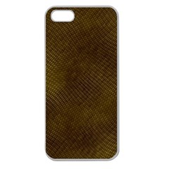 Reptile Skin Apple Seamless Iphone 5 Case (clear) by trendistuff