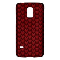 Red Reptile Skin Galaxy S5 Mini by trendistuff