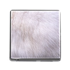 Rabbit Fur Memory Card Reader (square) by trendistuff