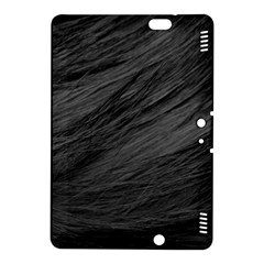 LONG HAIRED BLACK CAT FUR Kindle Fire HDX 8.9  Hardshell Case by trendistuff