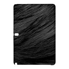 Long Haired Black Cat Fur Samsung Galaxy Tab Pro 10 1 Hardshell Case by trendistuff