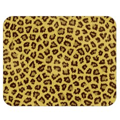 Leopard Fur Double Sided Flano Blanket (medium)  by trendistuff
