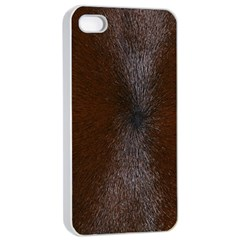 Horse Fur Apple Iphone 4/4s Seamless Case (white) by trendistuff