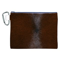 Horse Fur Canvas Cosmetic Bag (xxl)  by trendistuff