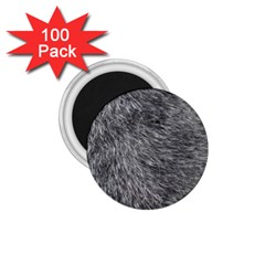 Grey Wolf Fur 1 75  Magnets (100 Pack)  by trendistuff
