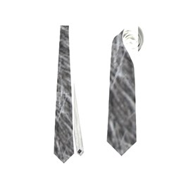 Grey Wolf Fur Neckties (two Side)