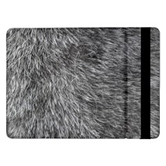 Grey Wolf Fur Samsung Galaxy Tab Pro 12 2  Flip Case