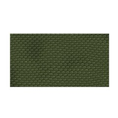Green Reptile Skin Satin Wrap by trendistuff