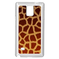 GIRAFFE HIDE Samsung Galaxy Note 4 Case (White) by trendistuff