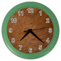 DOG FUR Color Wall Clocks by trendistuff