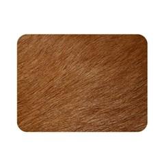 Dog Fur Double Sided Flano Blanket (mini)  by trendistuff