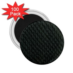 Dark Green Scales 2 25  Magnets (100 Pack)  by trendistuff