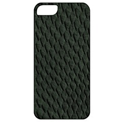 Dark Green Scales Apple Iphone 5 Classic Hardshell Case by trendistuff