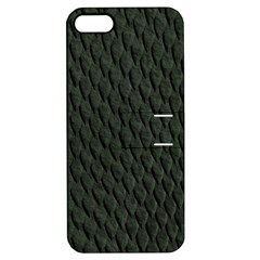 Dark Green Scales Apple Iphone 5 Hardshell Case With Stand by trendistuff