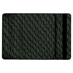 Dark Green Scales Ipad Air Flip by trendistuff