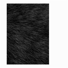 Black Cat Fur Small Garden Flag (two Sides) by trendistuff