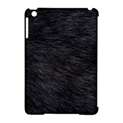 Black Cat Fur Apple Ipad Mini Hardshell Case (compatible With Smart Cover) by trendistuff